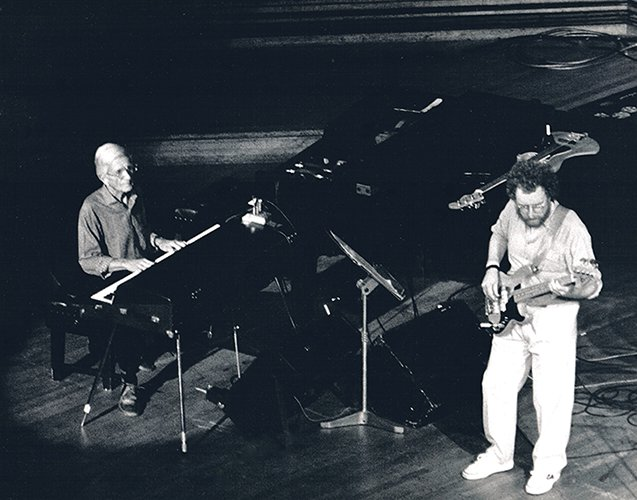 Mo with Gil Evans